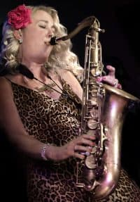 Ep 090 – Kim Cypher; Unique 'funky' style of saxophone playing