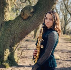 Ep 103 – Emma McPhilemy; Musical Director and Saxophone Soloist for Riverdance
