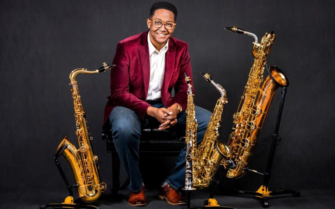 Ep 110 – Steven Banks; First Saxophonist to Win 1st Place in the YCA Competition, Part 1