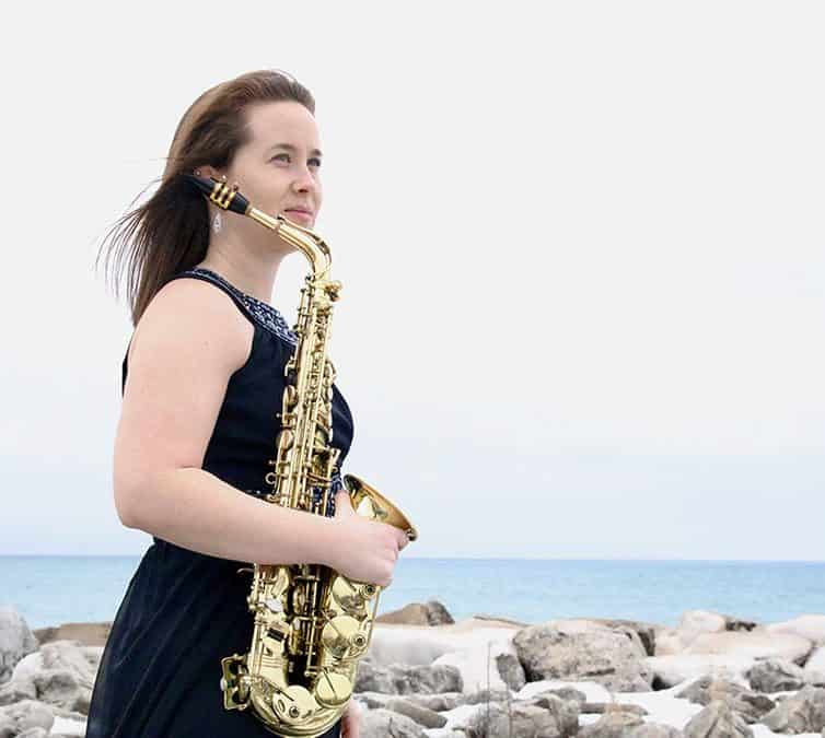 Ep 115 -Nicki Roman; Pushing saxophone boundaries with innovative composers